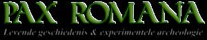 Logo van Pax Romana, een Nederlandse levende geschiedenisvereniging die Romeinse soldaten en burgers uitbeeldt.